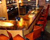 Rodizio Grill Custom Metal Finish Bar
