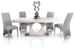 Metal Contemporary Dining Room Sets