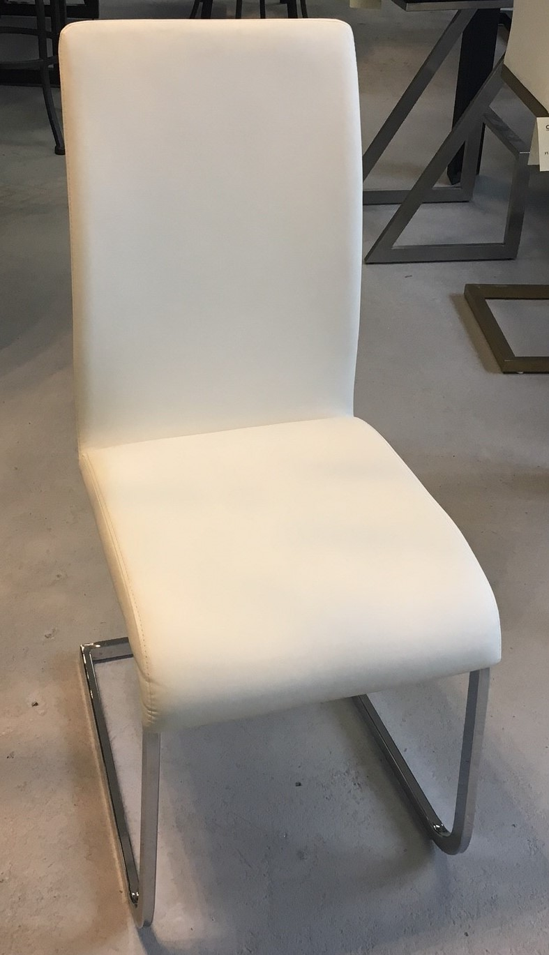 White Side Chair Image