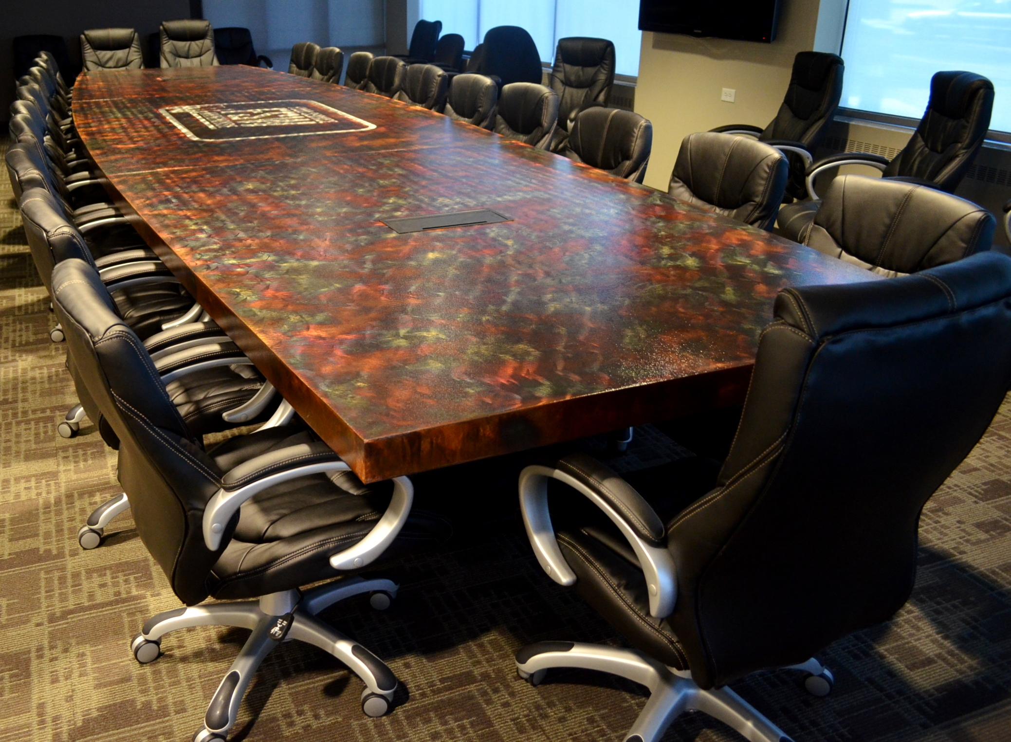 Modern Conference Tables  Metal Restaurant Tables  Contemporary