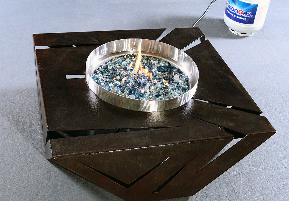 American Made Steel Fire pits